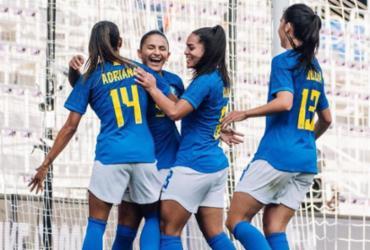 Seleção feminina sobe para sétimo no ranking da Fifa e passa Austrália |