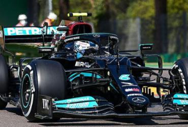 Mercedes volta a dominar no segundo treino livre do GP da Emilia-Romagna |