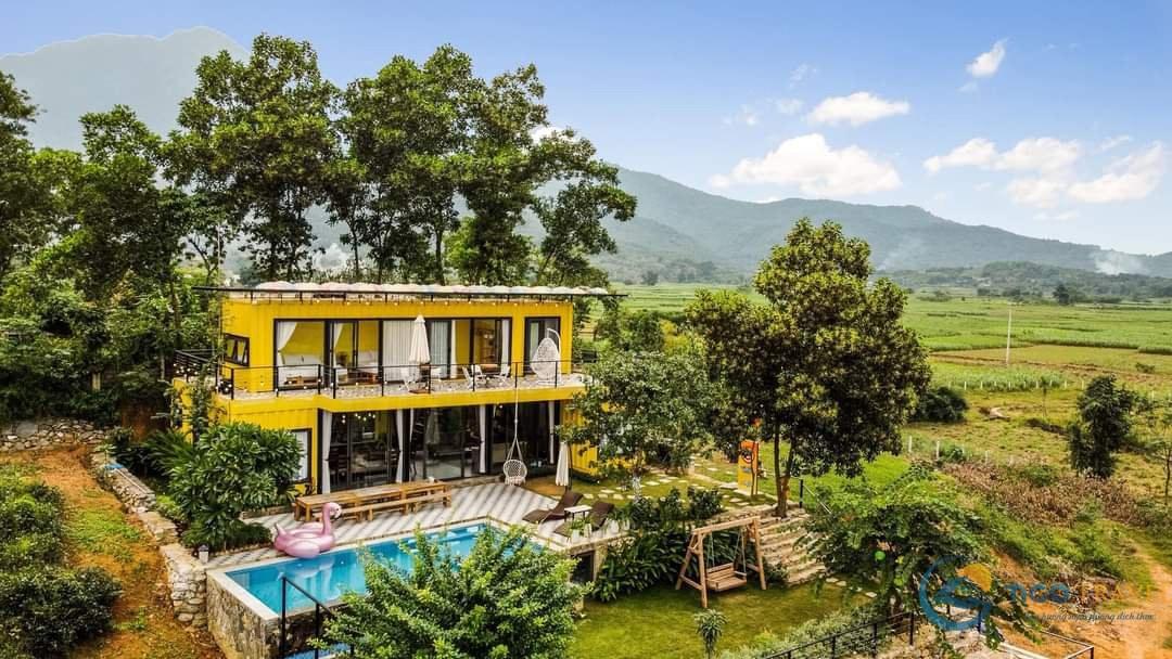 Top 12 Biệt thự villa Ba Vì giá rẻ view đẹp có hồ bơi khu vực làm BBQ