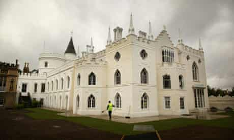 Gothic Castle Strawberry Hill Is Unveiled After Extensive Restoration