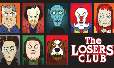 The Losers' Club, artwork by Dustin Patterson