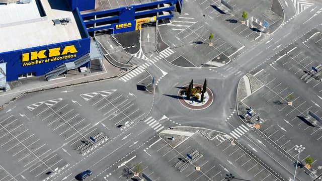 Un magasin Ikea près de Bordeaux.