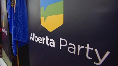 Le logo du Parti albertain