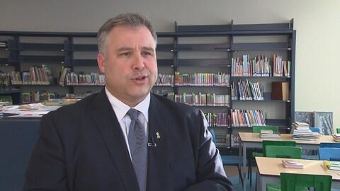 Sébastien Proulx, ministre de l'Éducation, du Loisir et du Sport