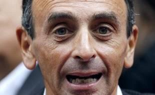 Le journaliste Eric Zemmour à Paris le 6 septembre 2011