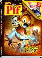 La une du dernier magazine Pif