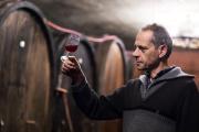Le viticulteur alsacien Jean-Pierre Frick (ici dans sa cave à Pfaffenheim, en 2015).
