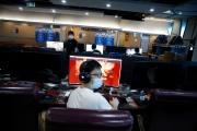 Un café Internet, à Pékin, le 31 août 2021.