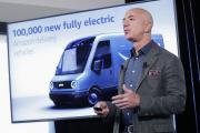 Jeff Bezos, fondateur d'Amazon, au National Press Club, à Washington (Etats-Unis), le 19 septembre 2019.