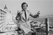 Jean-Paul Belmondo au festival de Cannes, en 1974.