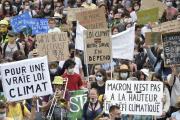 Manifestation pour le climat à Nantes, le 9 mai.