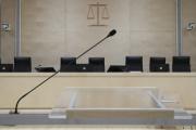 Dans la salle d'audience du procès des attentats du 13 novembre 2015, à Paris, le 2septembre 2021.