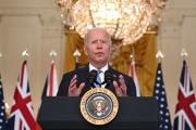 Joe Biden à la Maison Blanche, le 15 septembre 2021.