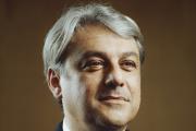 Luca de Meo, le directeur général de Renault, au Technocentre de Guyancourt (Yvelines), le 16 septembre 2021.