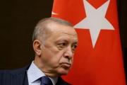 Recep Tayyip Erdogan, le président turc, à Sochi (Russie), le 29 septembre 2021.