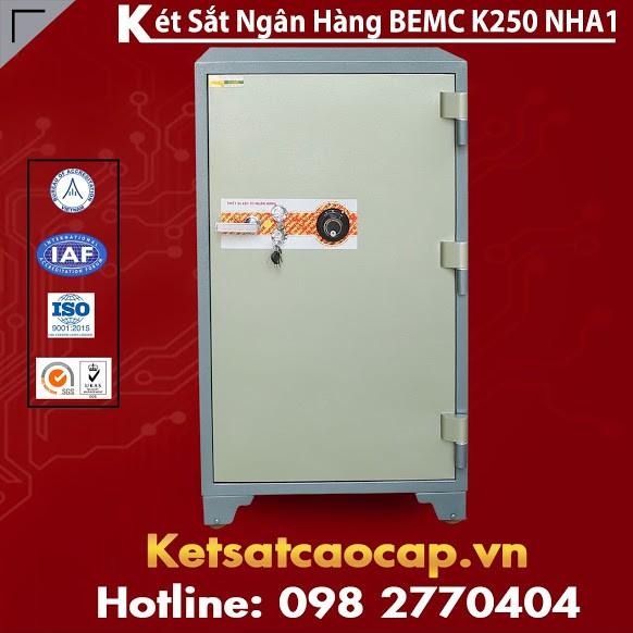 Két Sắt Ngân Hàng BEMC K250 NHA1 Hãng Két Sắt Uy Tín Cao Cấp Hàng Đầu