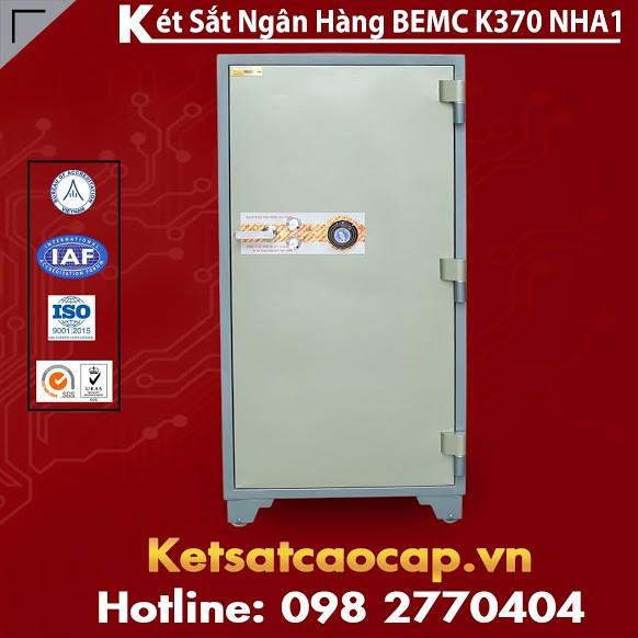 Két Sắt Ngân Hàng BEMC K370 NHA1 Két Phổ Biến Nhất Việt Nam Hiện Nay