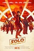 Woody Harrelson, Thandie Newton, Donald Glover, Alden Ehrenreich, Phoebe Waller-Bridge, Emilia Clarke, and Joonas Suotamo in Solo: A Star Wars Story (2018)