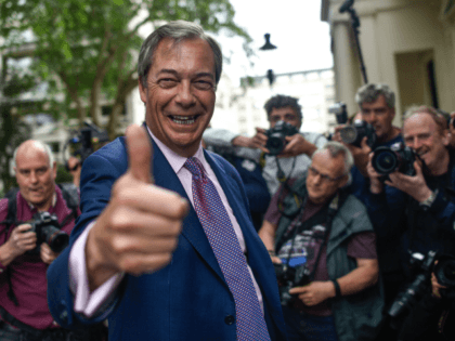 Farage Tells Breitbart: After Europe's Vaccine Failure, the British People Can See We Are Better Governing Ourselves