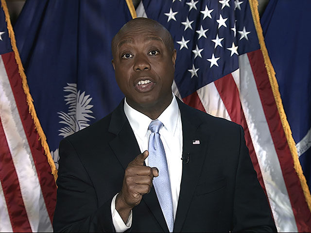 Tim Scott Responds to Joe Biden: 'Hear Me Clearly, America Is Not a Racist Country'