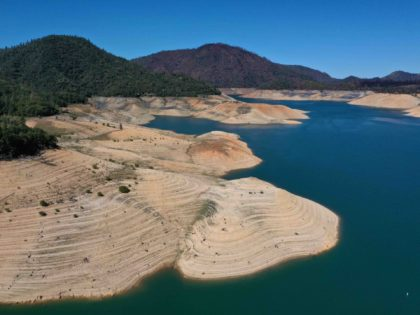 PHOTOS: Drought Returns to California as Lake Oroville Drops Dramatically