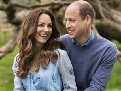 Future King William and Duchess Kate Mark 10th Anniversary With Portraits