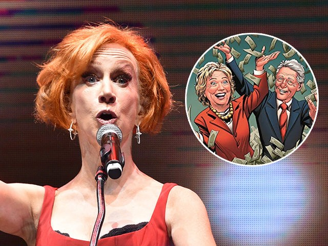 Kathy Griffin Says She Stopped Seeing Prosthetic Dentist Who Brought Up 'Clinton Cash'
