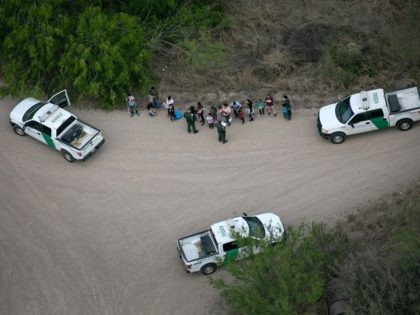 WATCH: 42 Migrants Apprehended While Trying to Avoid Border Patrol in South Texas