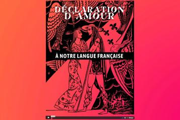 Un spectacle hommage à la langue française offert en ligne)