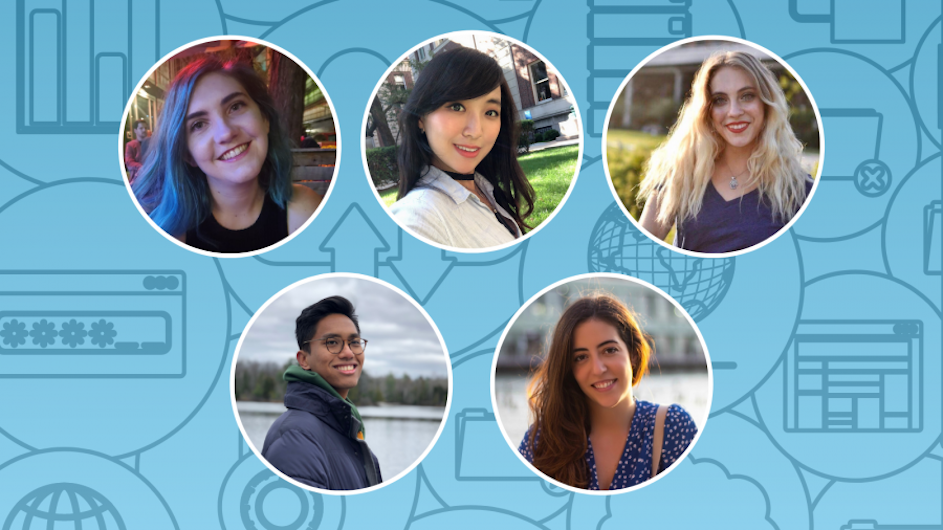 Five students from Columbia's SIPA working on global public policy