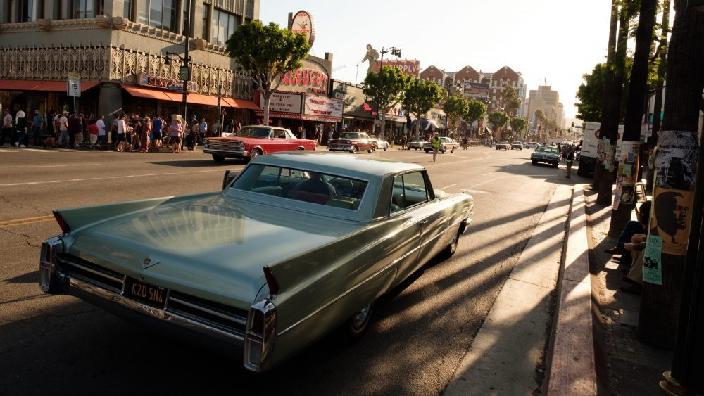 On location of Columbia Pictures' ONCE UPON A TIME IN HOLLYWOOD