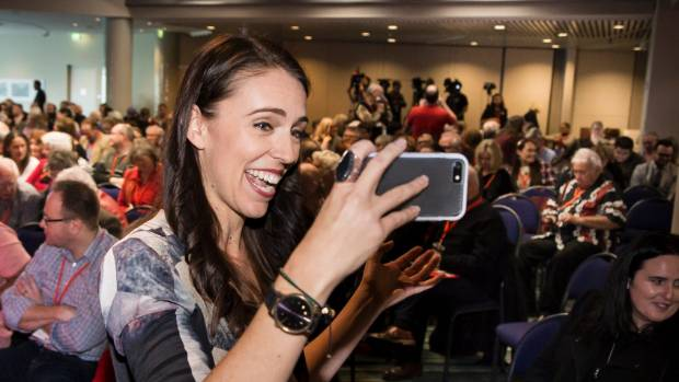 Jacinda Ardern has never said she has ambitions to lead Labour.