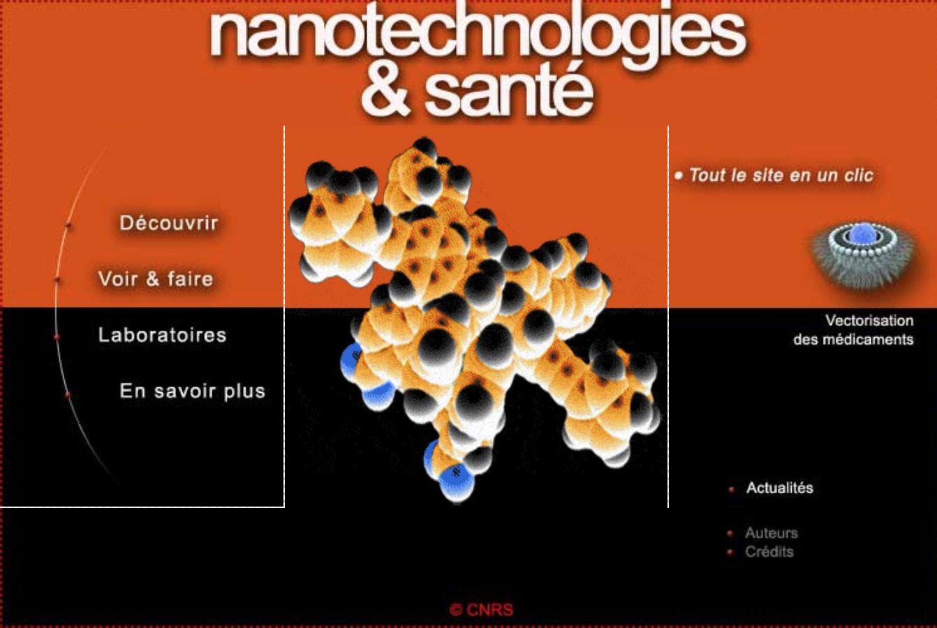 Image Nanotechnologies et santé