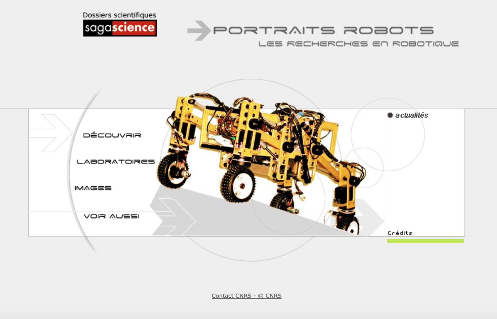 Image Portraits robots