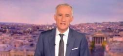 Audiences 20h: Gilles Bouleau sur TF1 et Anne-Sophie Lapix sur France 2 dans leur moyenne habituelle avec un million d'écart entre les 2 journaux