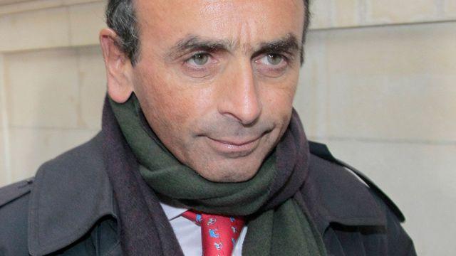 Le chroniqueur, journaliste et écrivain Eric Zemmour, au Tribunal correctionnel de Paris, le 11 janvier 2011.