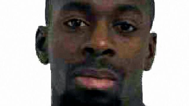 Une photo d'Amedy Coulibaly diffusée par la police française le 9 janvier 2015.