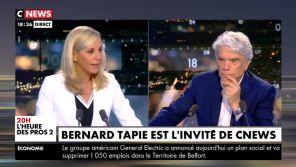 """""""Je rentre dans le dur"""" : Privé de voix, Bernard Tapie s'exprime sur son état de santé sur CNews"""