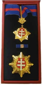 Order of the White Double Cross, 2nd Class