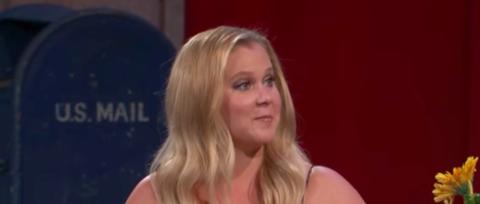 Watch Amy Schumer Talk Meeting Comedy Idol Steve Martin on 'Kimmel'