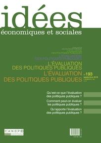 Idées économiques et sociales 2018/3