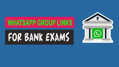 whatsapp group links for bank exams