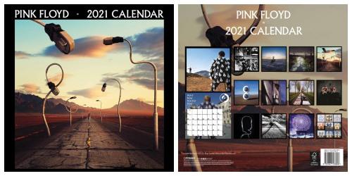 Pink Floyd 2021 Official Calendar