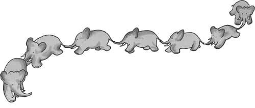 Babar Elephants