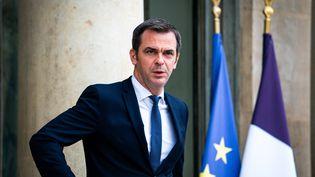 Le ministre de la Santé Olivier Véran, à l'Elysée à Paris le 28 juillet 2021. (XOSE BOUZAS / HANS LUCAS / AFP)