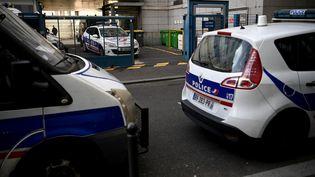 Photo prise le 27 novembre 2020 montrant un commissariat du 12e arrondissement de Paris abritant une antenne de l'Inspection générale de la police nationale(IGPN). (CHRISTOPHE ARCHAMBAULT / AFP)