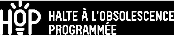 HOP // Halte à l'obsolescence programmée