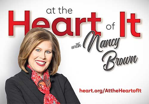 at the Heart of It with Nancy Brown