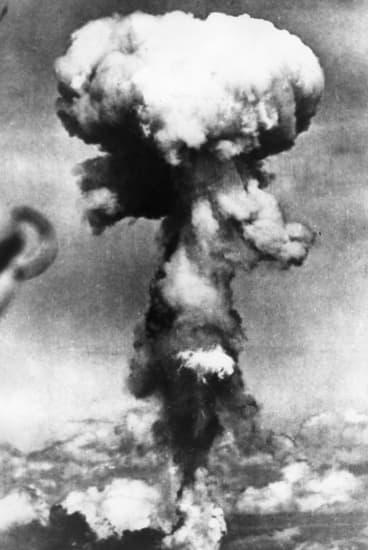 Explosion de la bombe A sur Hiroshima