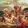Eugène Delacroix, Chasse aux lions